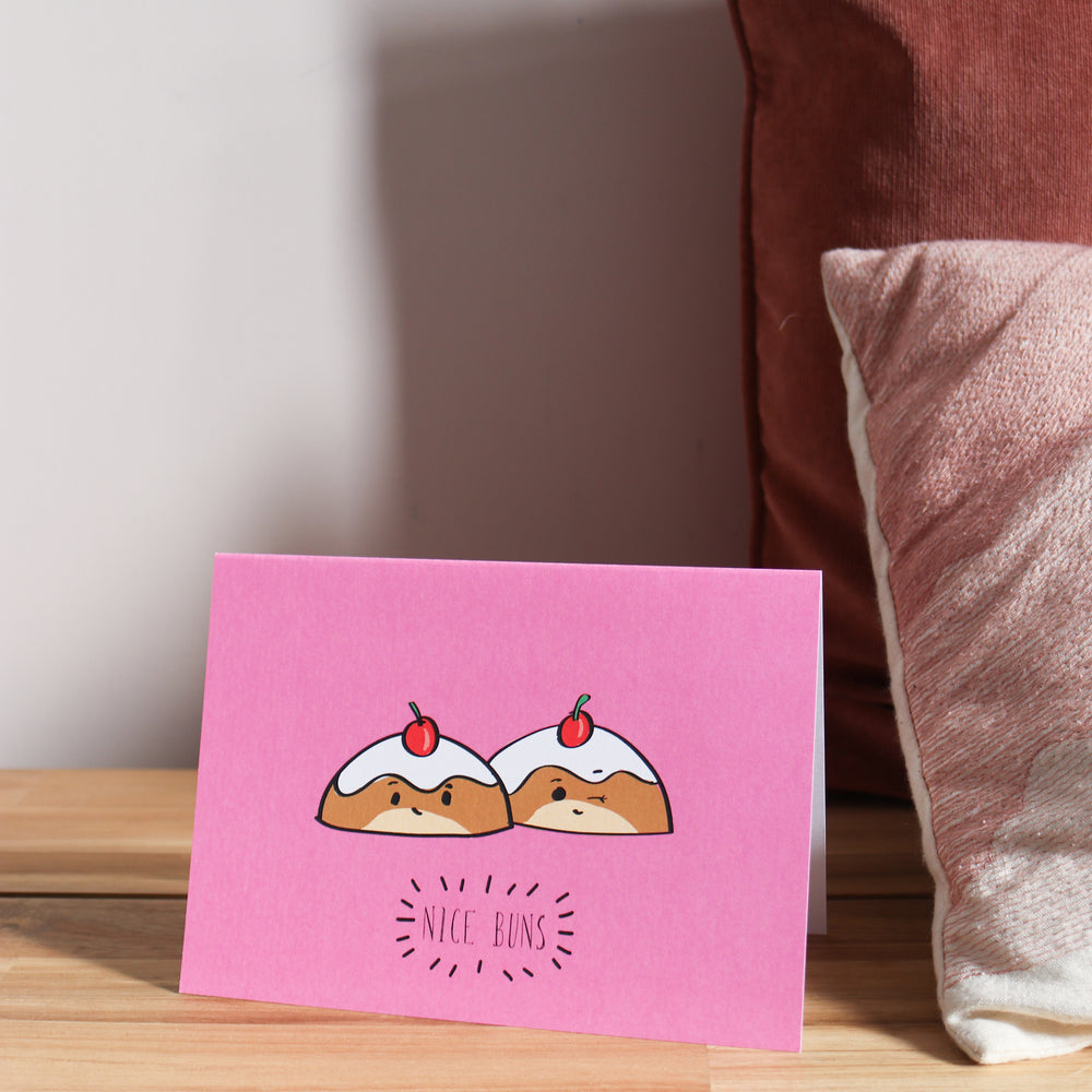 'Nice Buns' Valentine's Day Card