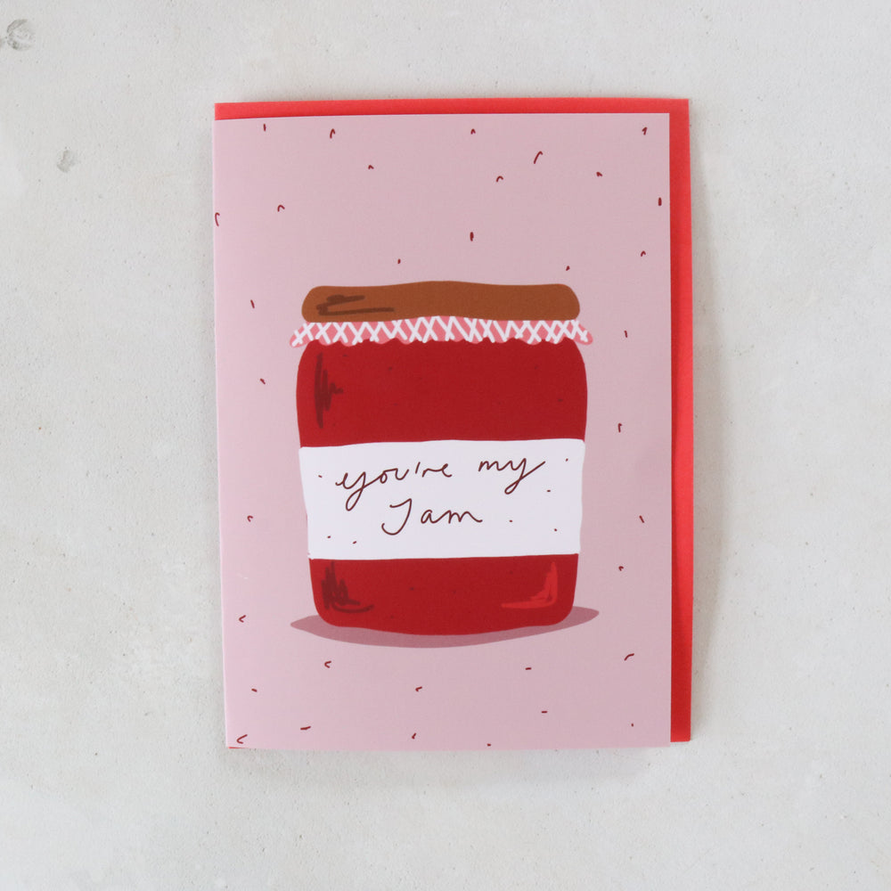 'You're My Jam' Cute Anniversary Card