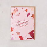 'You're a Wonderful Human' Greeting Card for Her