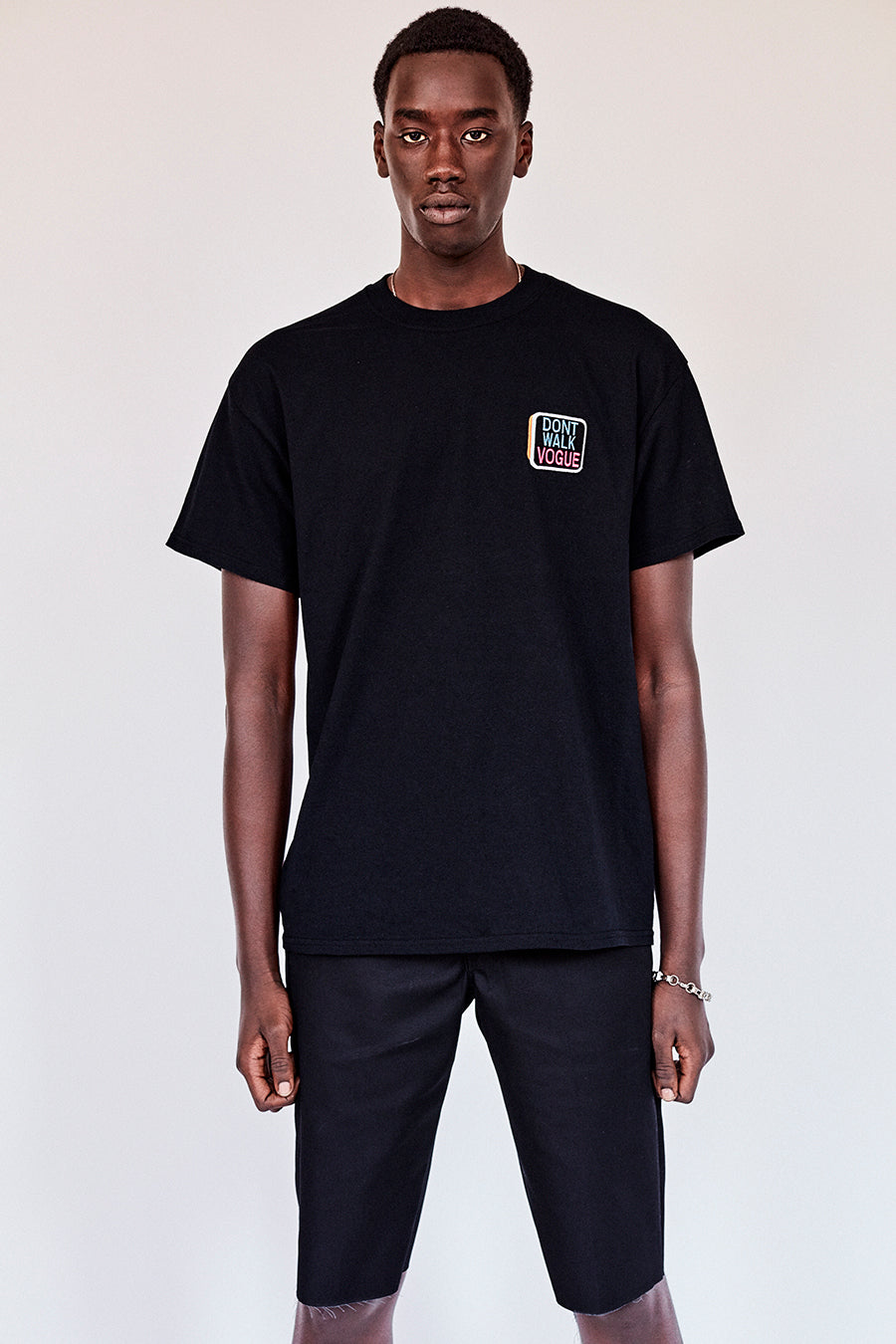 The Dont Walk Vogue Tee- Black