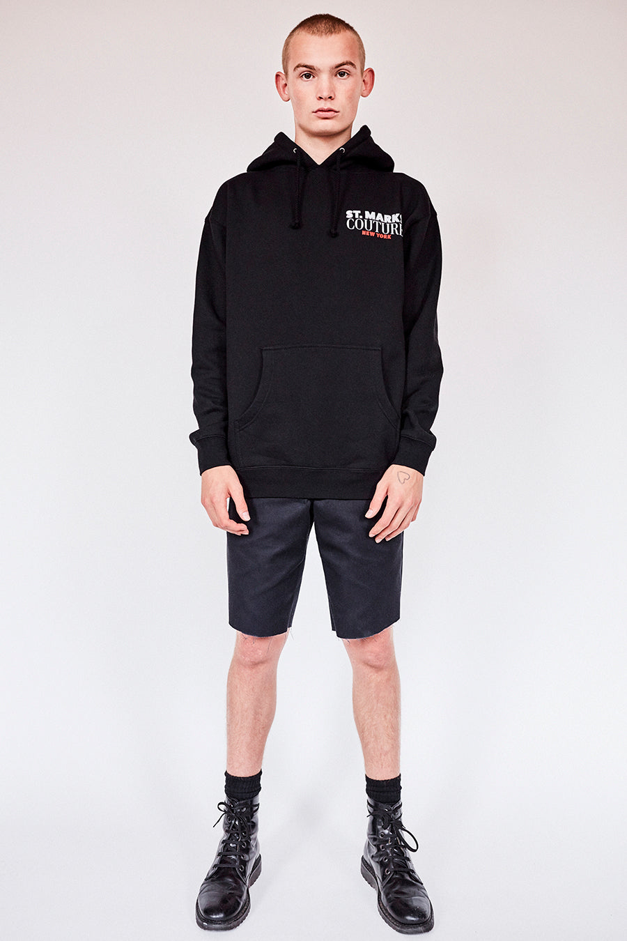 The St Marks Guys Hoodie- Black