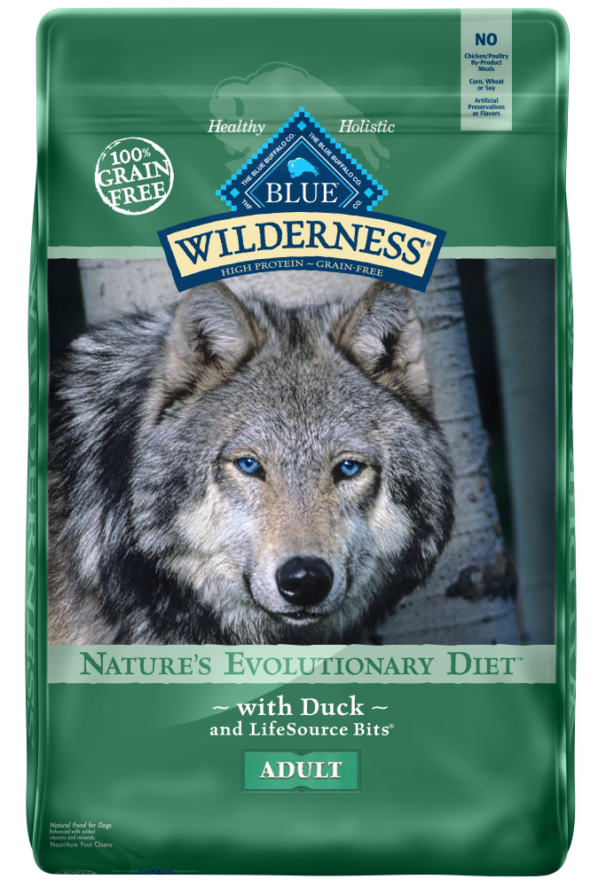 Blue Buffalo Wilderness Grain Free Duck Recipe Dry Dog Food