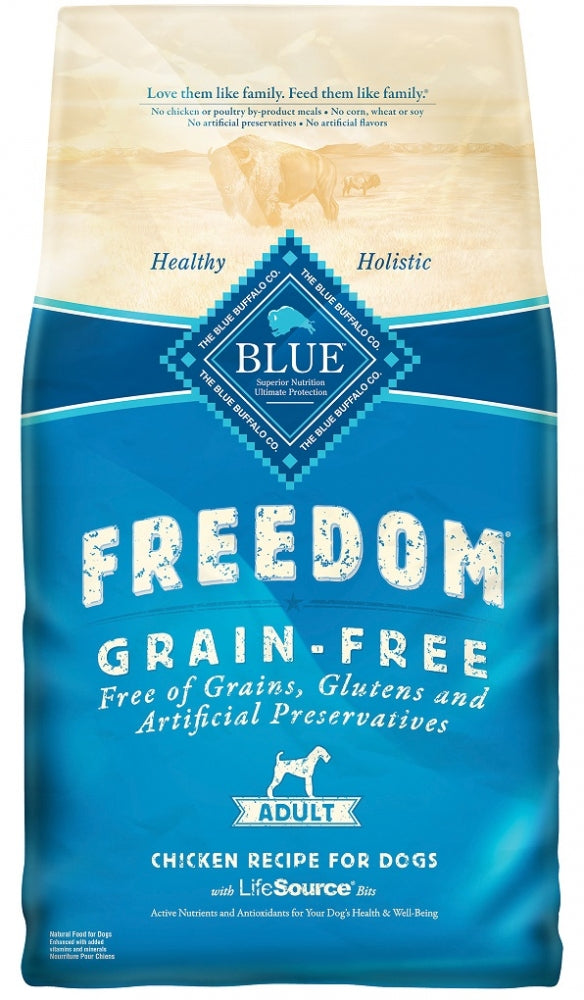 Blue Buffalo Freedom Grain Free Chicken Recipe Adult Dry Dog Food