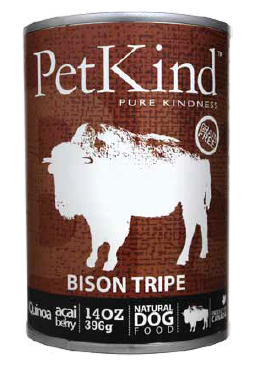 PetKind Grain Free Bison Tripe Canned Dog Food
