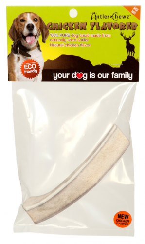 Antler Chewz Split Chicken Flavor Dog Treat