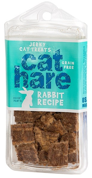 Hare of the Dog 100% Rabbit Jerky Cat Treats