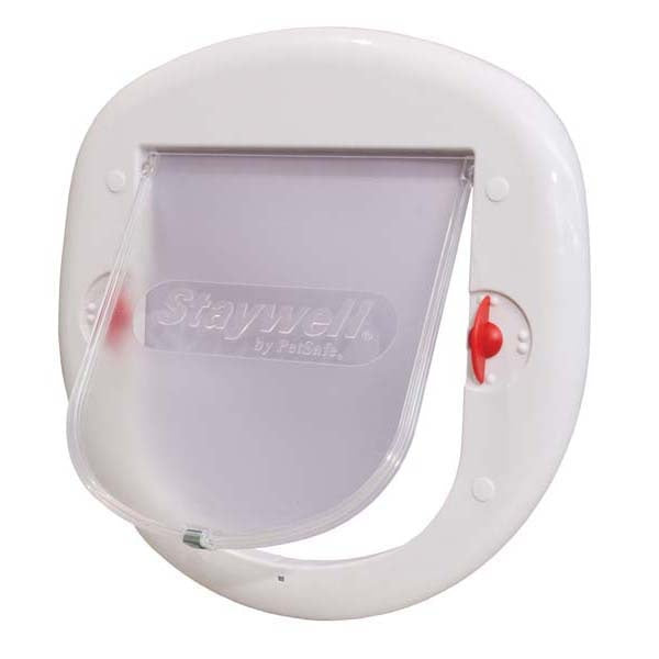 PetSafe 4 Way Locking Big White Cat Door