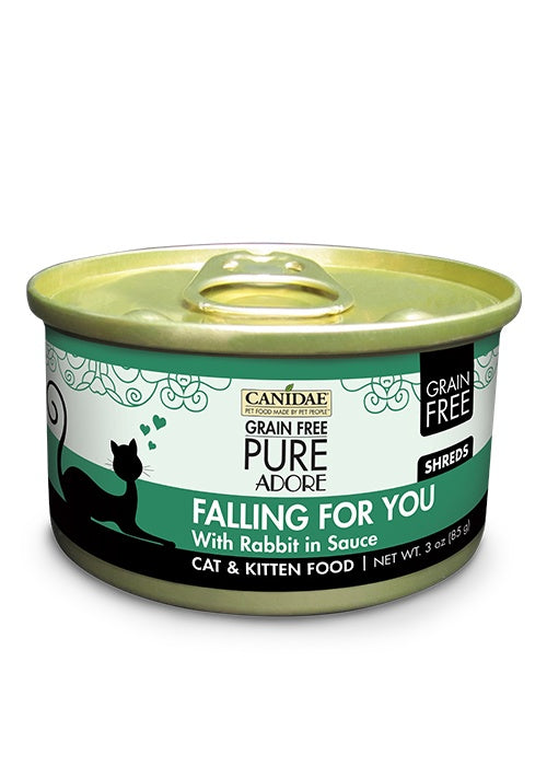 Canidae Grain Free PURE Adore: Falling For You with Rabbit Canned Cat Food