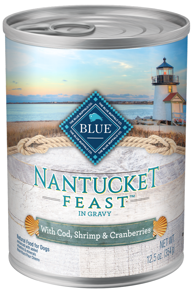 Blue Buffalo Regionals Nantucket Feast with Cod, Shrimp, Yukon Gold Potatoes, and Cranberries Canned Dog Food