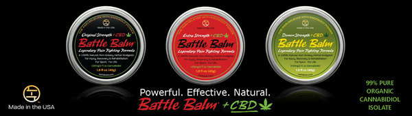 Battle Balm CBD Product Line