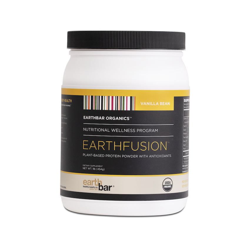 Vanilla Bean Earthfusion Protein Powder