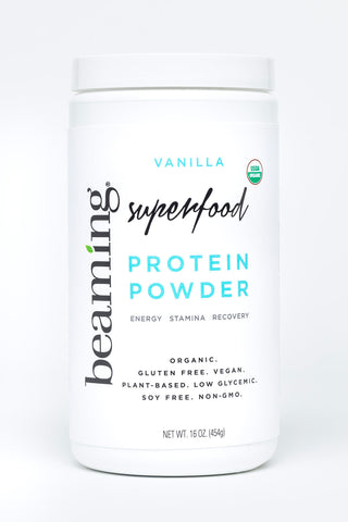 Beaming Superfood Vanilla Protein Powder