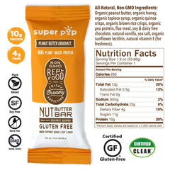 Super Pop Peanut Butter Chocolate Bar