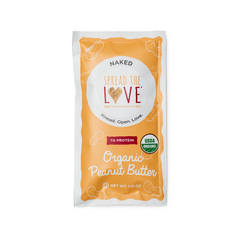 Naked Organic Peanut Butter Single Serve Packets (10-PACK)