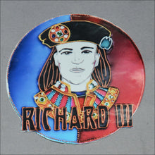 "3"" Sticker Richard III Front Face"