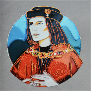"3"" Sticker - Richard III Portrait"