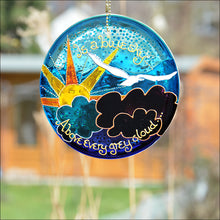Positive Thoughts Suncatcher