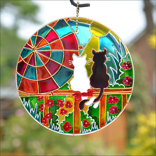 Sunshine Cats Suncatcher