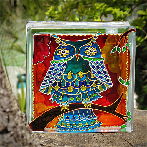 Pop Art Owl Night Light