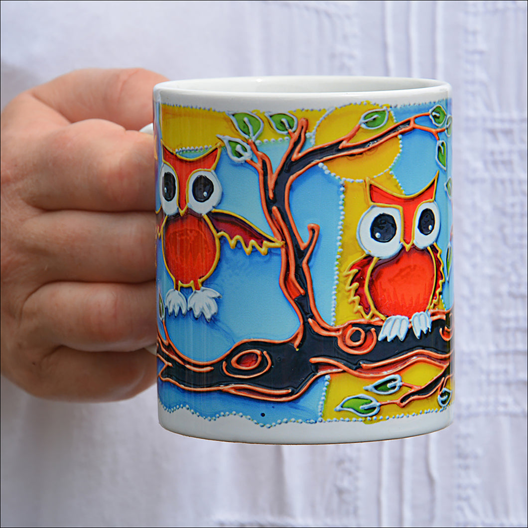Baby Owl Mug &/OR Coaster