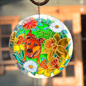 Customised Pet Loss Stained Glass