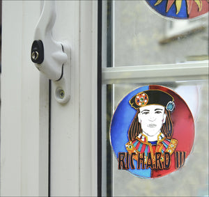 "Richard of York 4"" Window Cling"