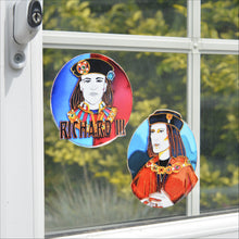 "Richard III Portrait 4"" Opaque Sticker"