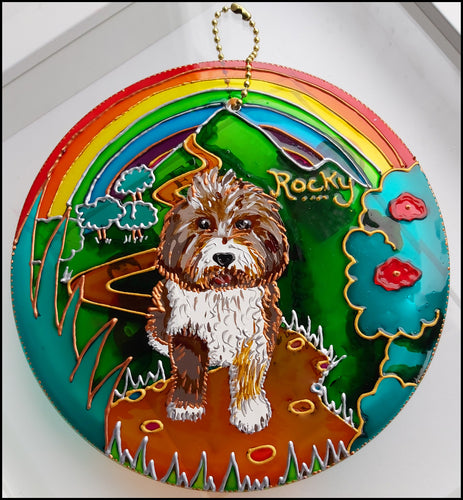 COMPLETELY CUSTOM Pet Memorial Sun Catcher