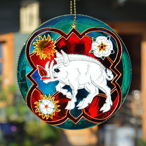 White Boar Sun Catcher