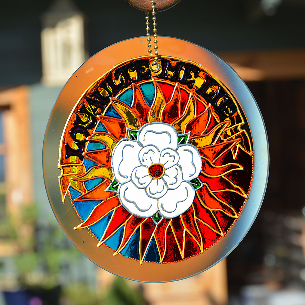 Rose of York Sun Catcher