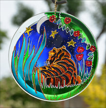 Tiger Art Sun Catcher