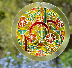 Golden Fairground Sun Catcher