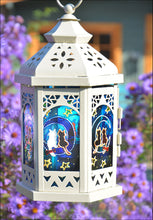 Little Cats on the Moon Moroccan Lantern