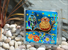 Cute Owls Sun Catcher