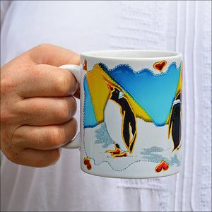 Penguin Coffee Mug & / OR Coaster