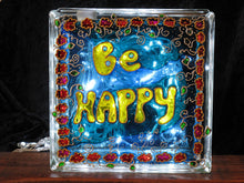 BE HAPPY Sun Catcher