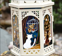 Cute Cat Moroccan Lantern