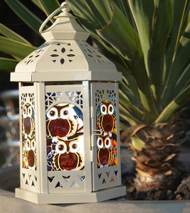 Little Owls Candle Lantern