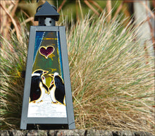 Romantic Penguin Lantern Gift