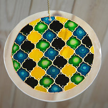 Moroccan Suncatcher - Green Yellow