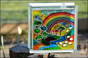 Rainbow Farm Sun Catcher
