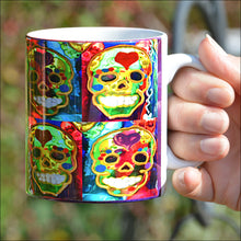 Sugar Skull Coffee Mug