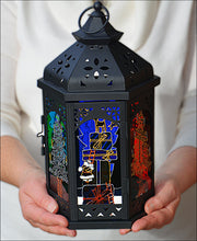Christmas Gifts Window Lantern