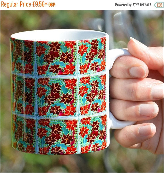 Clematis Flower Mug & / OR Coaster