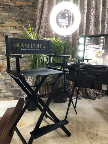 Glam Studio Makeup Chair by Glam Doll