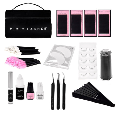Mimic Lashes Hybrid Lash Course Kit