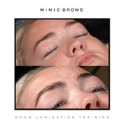 Combo Lash Lift + Brow Lamination + Threading Course - Glam Doll