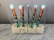 GD Metallic Prism 7-piece Brush Set w/ Coordinating Clutch - GLAM DOLL