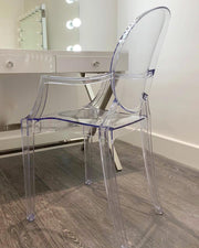 'The Aspen' Transparent Chair - GLAM DOLL