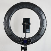 Glam Studio LED Ring Light with Remote - Black - Glam Doll